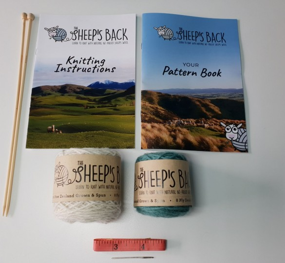 Learn to knit kit - Early Start